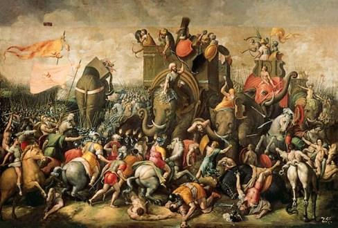 La bataille des ele phants